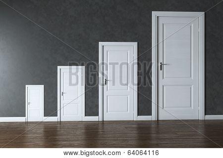 Conceptual Interior Picture - Rage Of Doors