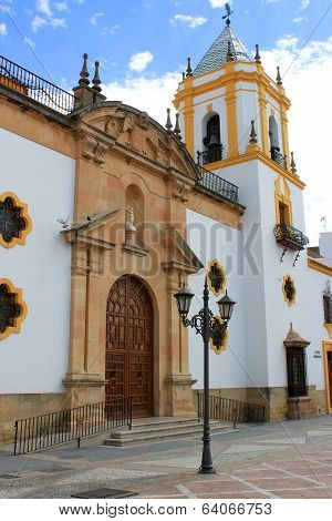 Church In Ronda, Spain