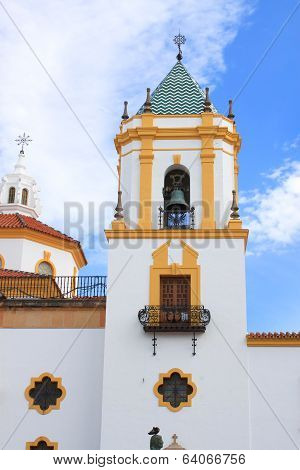 Belltower In Ronda, Spain