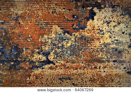 Corroded Metal Texture.