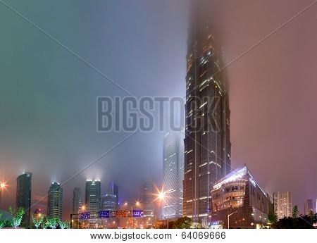 Shanghai, China, Pudong District, Jin Mao Tower