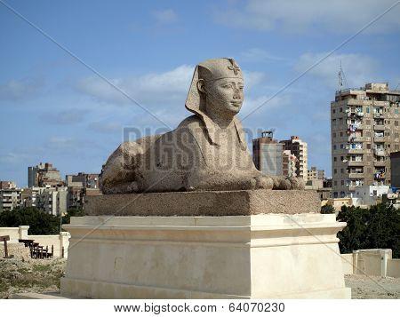 Sphinx in Alexandria