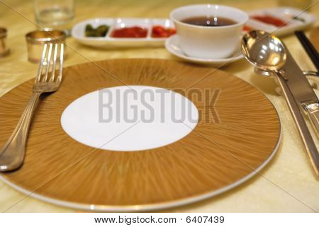Restaurant Table Layout