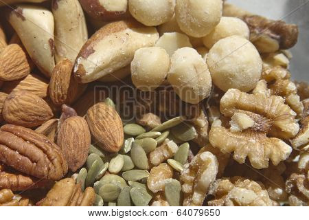 Raw Nuts And Seeds