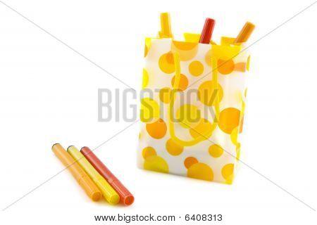 Speckles Felt-pen Bag