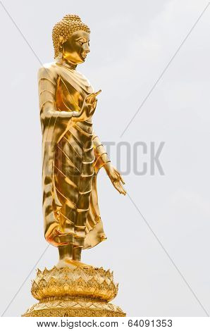 big image of buddha in thailand
