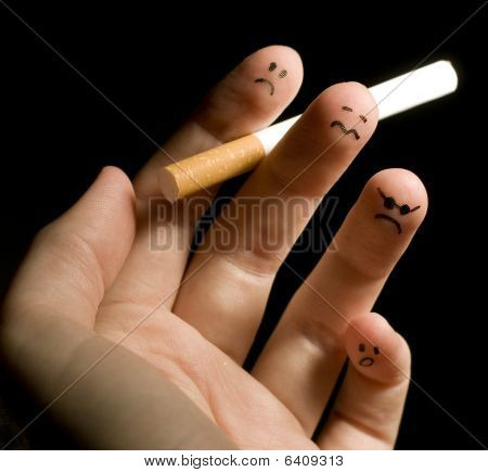 Smoking fingers