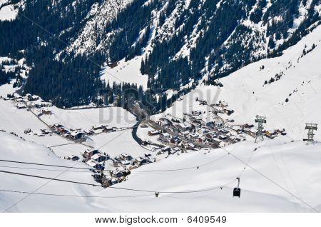 Ski Resort In Voralberg