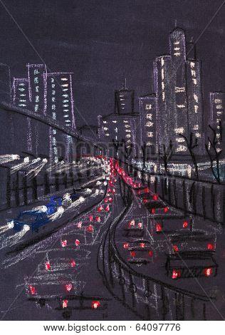 Lights Of Big City