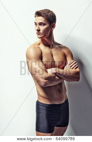 Portrait Of A Young Muscular Man