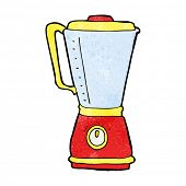 foto of blender  - cartoon kitchen blender - JPG