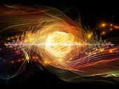 stock photo of quantum  - Atomic series - JPG