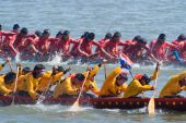 Longboat Racing In Pattaya, Thailand