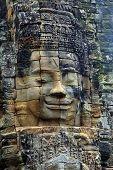 stock photo of mural  - Stone murals and sculptures in Angkor wat - JPG