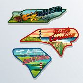 picture of appalachian  - luggage sticker designs of Tennessee - JPG