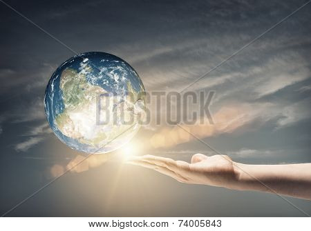 Our Earth planet