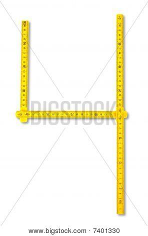 Carpenter Rule Look Like Number Four