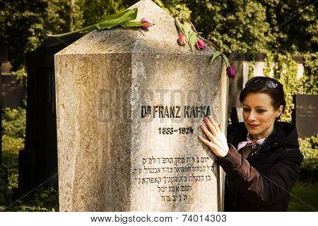 The Tomb Of Franz Kafka