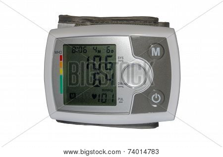 Electrical Device For Measuring Blood Pressure And Heart Rate