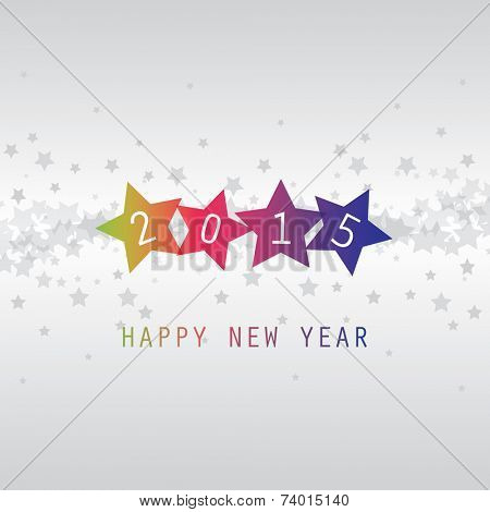 New Year Card - Happy New Year 2015