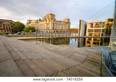 Reichstag embankment