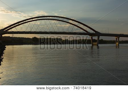 Bridge Over Mississippi River