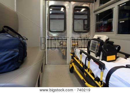 Ambulance View, Interior