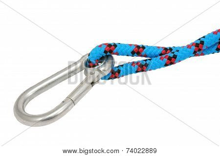 Carabiner And Rope