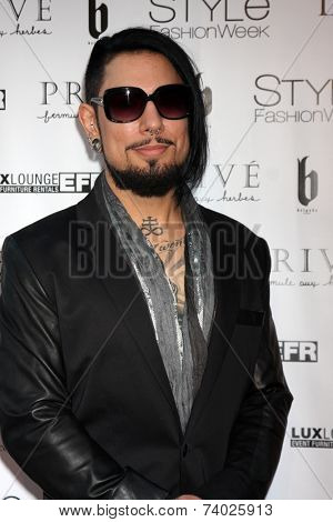 LOS ANGELES - OCT 15:  Dave Navarro at the Sue Wong