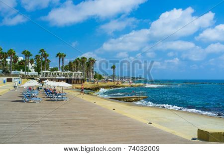 The Coast Of Paphos