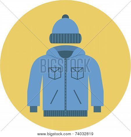 Vector Jacket and Fur Cap