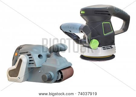 grinder machine under the white background