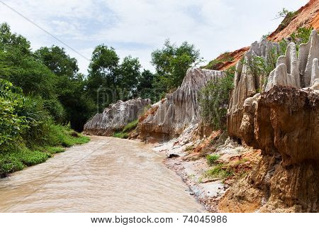 Fairy Stream Canyon. Mui Ne. Vietnam