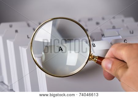 Investigating Documents With Magnifying Glass