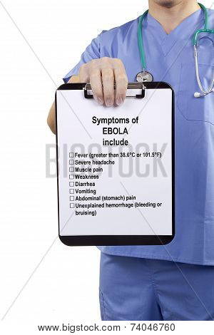 Symptoms Of Ebola Include