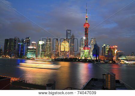 Shanghai Holiday Night