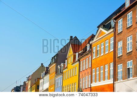 Copenhagen Nyhavn colorful houses