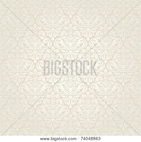 Bright luxury vintage wedding seamless background