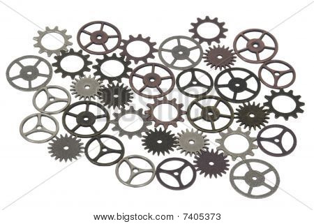 Antique And Retro Gears