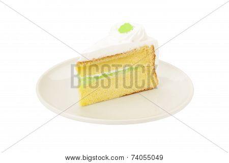 Pandan Sheet Cake