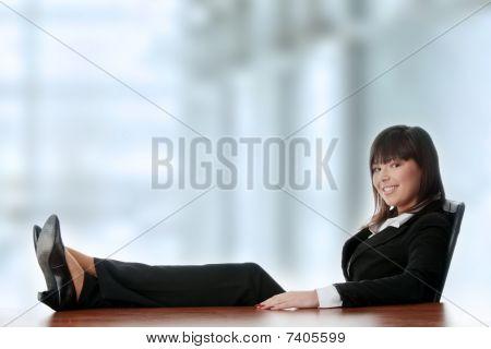 Beautiful Business Lady