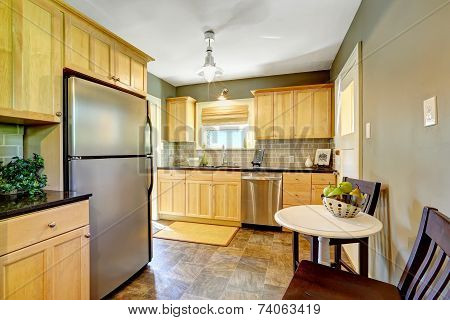 Small Kitchen Room Interior