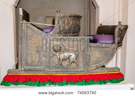 Seats Called Hawdas Used On Top Of Elephants