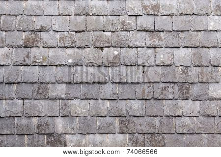 Wall With Slate Shingles