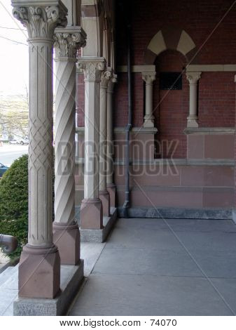 Town Hall Columns