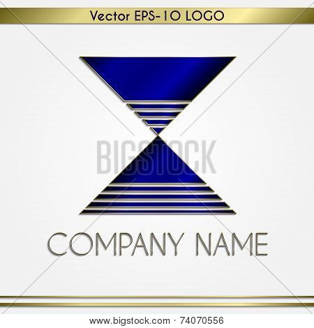 Vector abstract company name logo