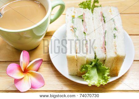 Sandwich With Ham.