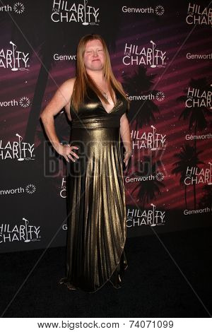LOS ANGELES - OCT 17:  Charlotte Larsen at the Hilarity for Charity Benefit for Alzheimer's Association at Hollywood Paladium on October 17, 2014 in Los Angeles, CA