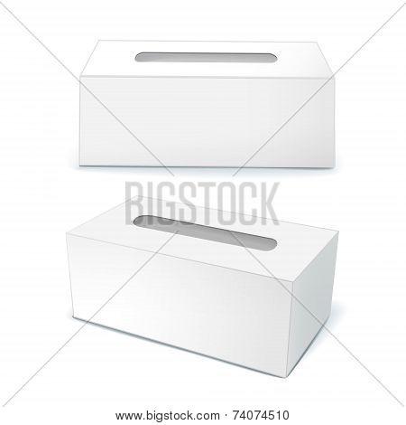 Blank Tissue Boxes