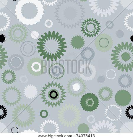 Seamless Gear Pattern